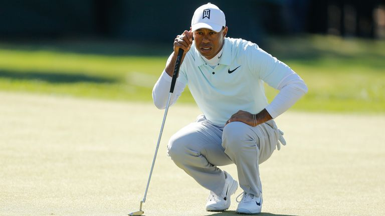 Woods is aiming to win for the first time since 2013