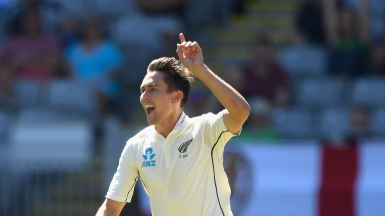 Trent Boult ripped through the England batting order on day one in Auckland
