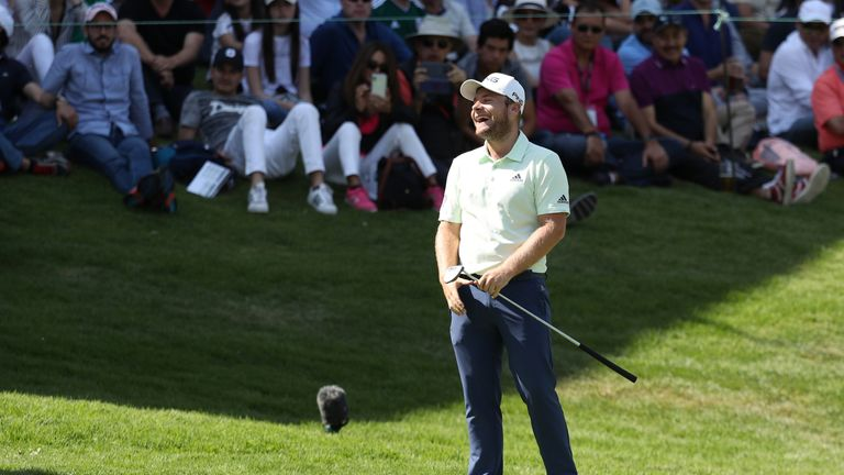 Tyrrell Hatton was pleased with his 64 in the third round
