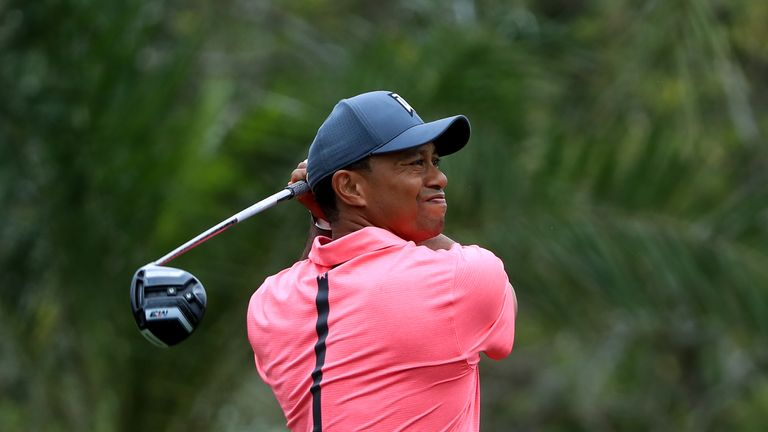 Woods has been dialled in with his irons and his short game has been great, but his driving is poor