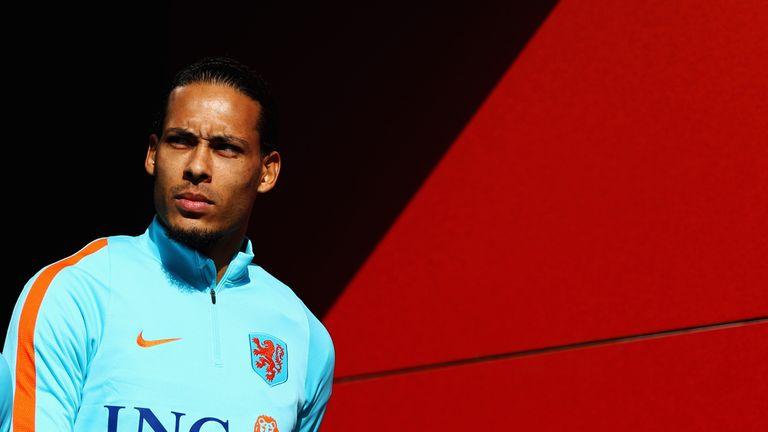 The Netherlands will be captained by Liverpool defender Virgil van Dijk