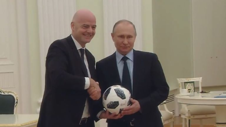 Russia will host the World Cup this summer