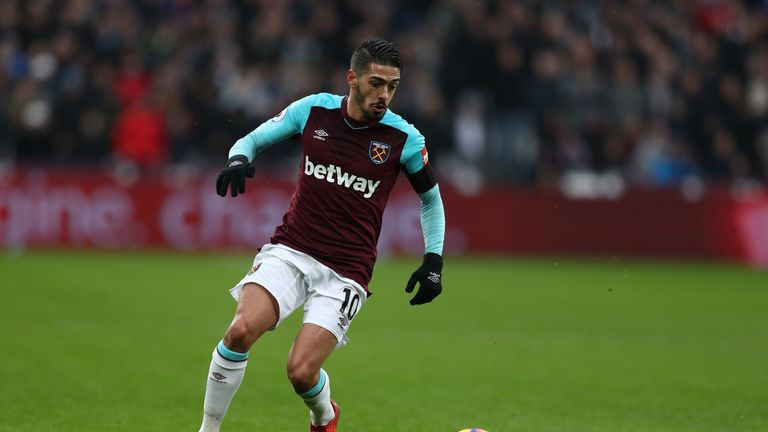 Manuel Lanzini could play a key role against Swansea
