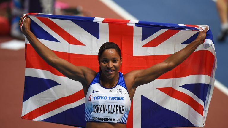Shelayna Oskan-Clarke won bronze in the 800m after a valiant effort