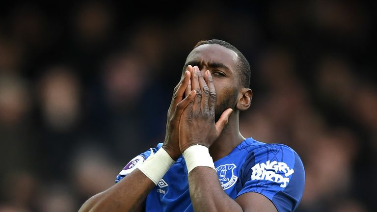 Yannick Bolasie did pull one back for Everton