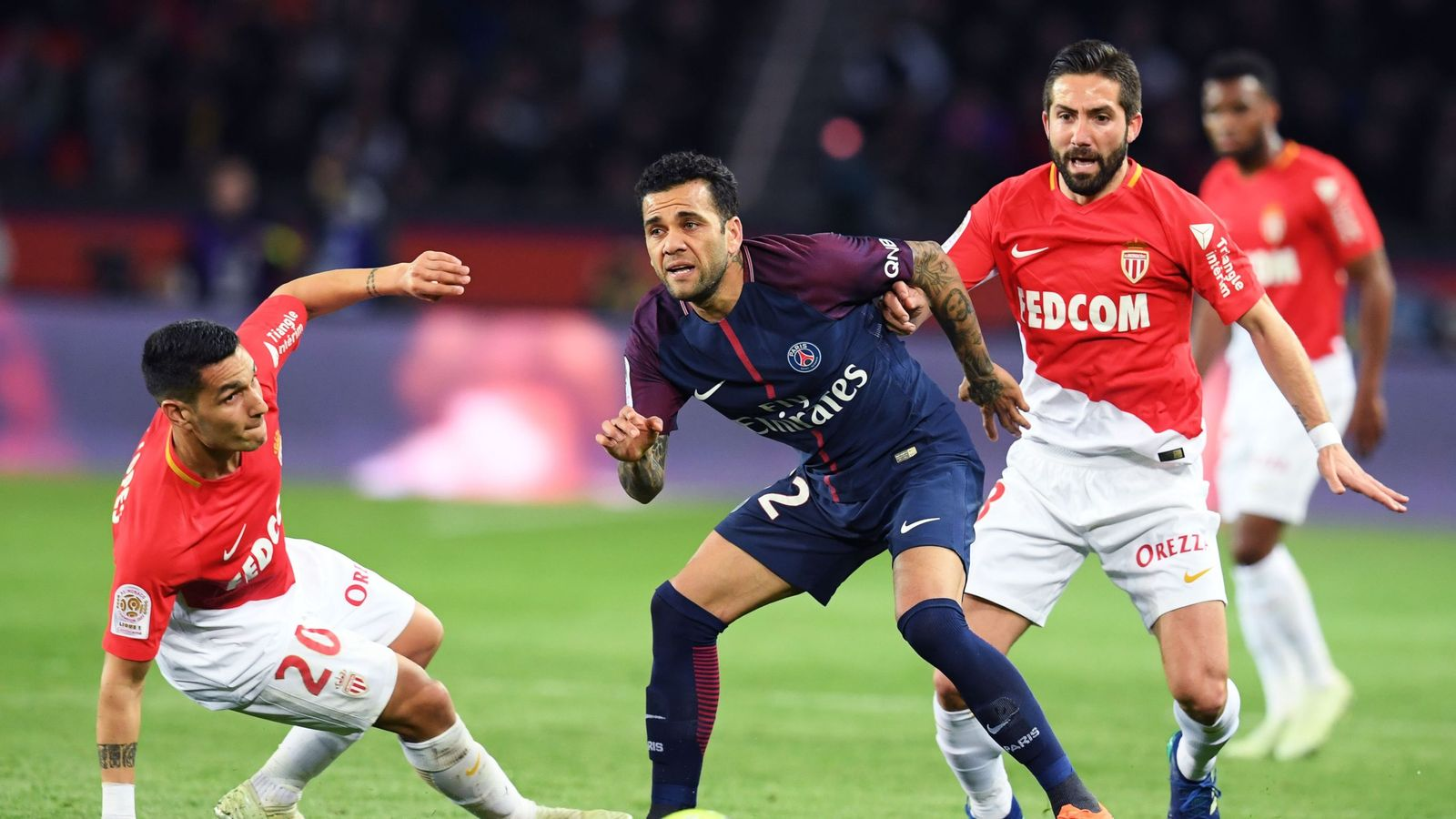 Football news - Monaco v PSG postponed due to bad weather ...  |Monaco ... Psg