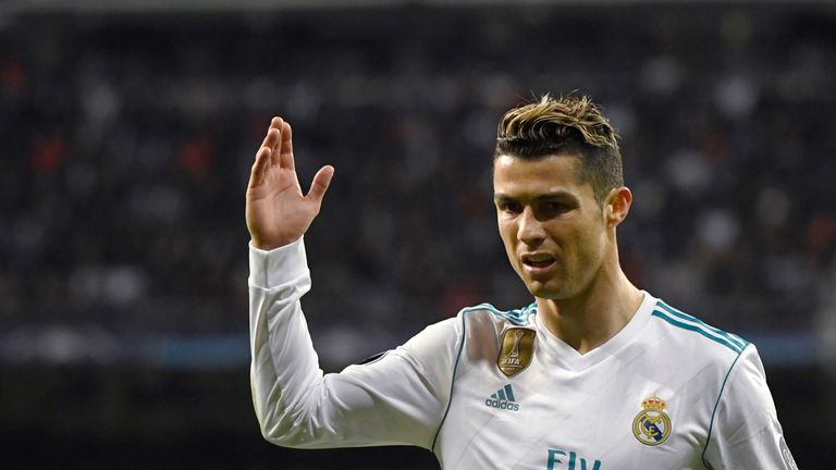 f57badf7ace Cristiano Ronaldo was a conspicuous absentee as Real Madrid launched their new  shirts for next season.