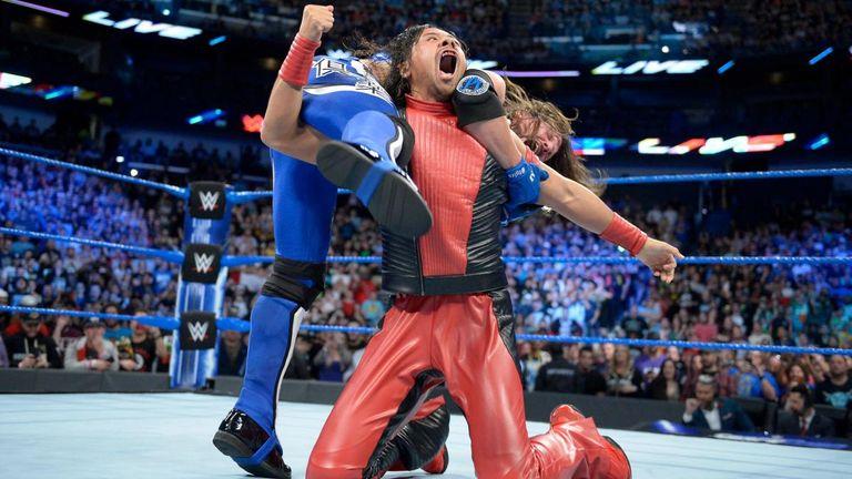 Shinsuke Nakamura unleashed a vicious attack on AJ Styles and Daniel Bryan