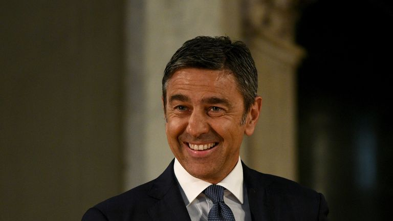Alessandro Costacurta is finding a successor to Gian Piero Ventura