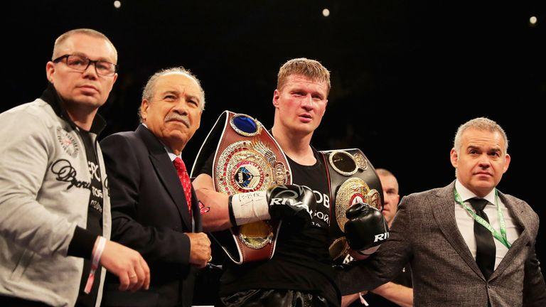 Povetkin is the mandatory challenger for Joshua's WBA belt
