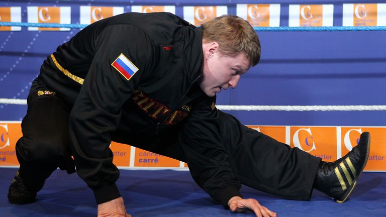 Povetkin is the lead candidate to fight Joshua if a deal with Wilder isn't agreed