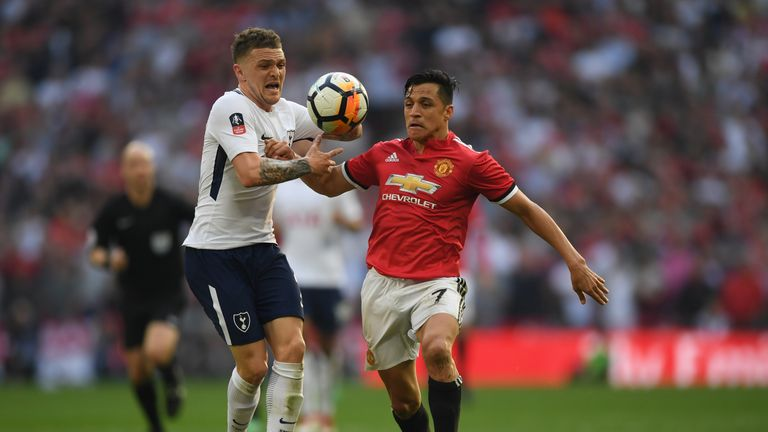 Sanchez says Saturday's win over Tottenham was the most perfect match since he arrived