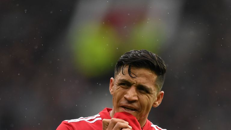 Alexis Sanchez admits he is still adapting to life at Old Trafford