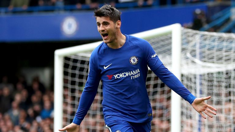Alvaro Morata had a disappointing season at Chelsea