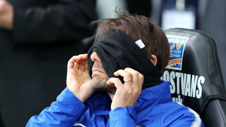 Antonio Conte has been left unhappy with his forwards' goal return this season