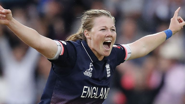 Anya Shrubsole was one of three England Women players named in Wisden's five Cricketers of the Year