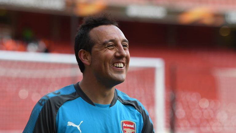Santi Cazorla was ruled out for Arsenal since October 2016 through injury.