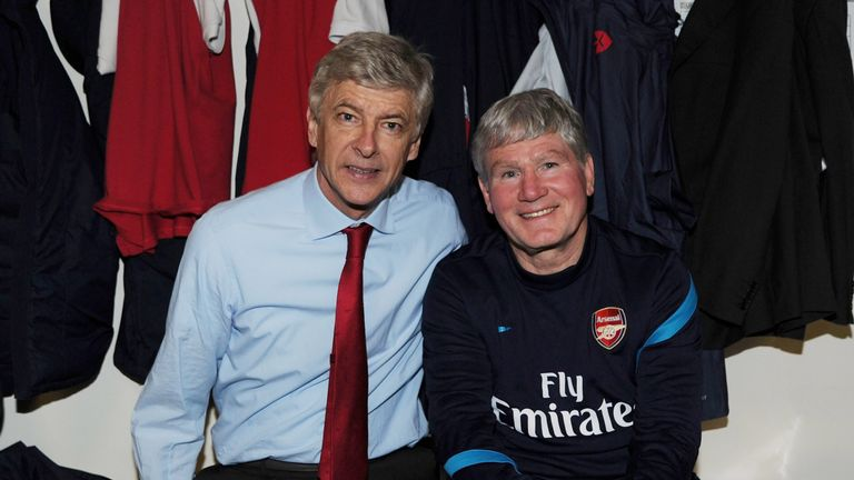 Pat Rice has praised his former boss Arsene Wenger and is convinced he could still play a role in world football (Photo by Stuart MacFarlane/Arsenal FC via Getty Images)