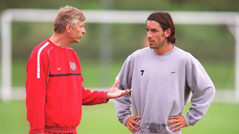 Robert Pires describes Wenger as the Arsenal 'teacher'