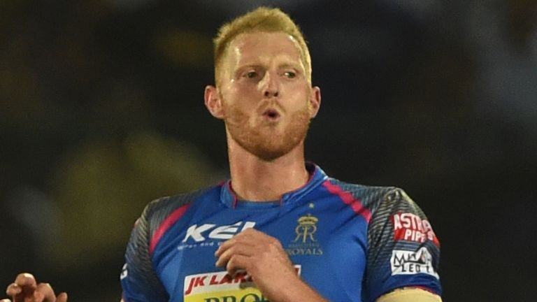 Ben Stokes was due to represent the Rajasthan Royals this year - one of several high-profile English players set to play in the IPL