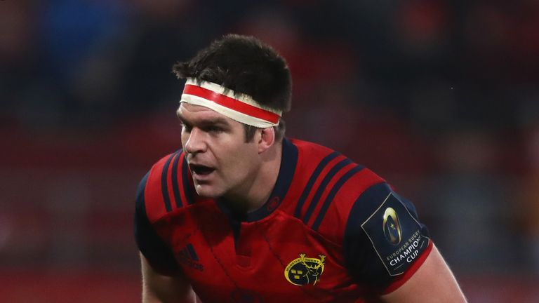 Billy Holland made 21 tackles against Ulster at Thomond Park