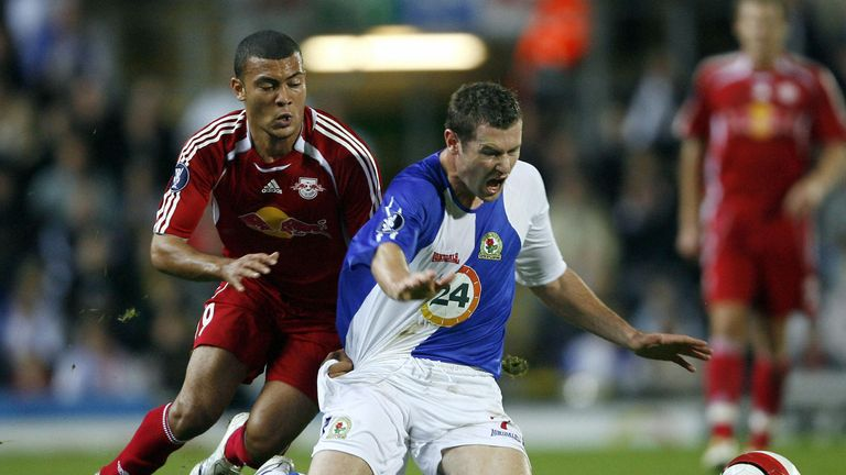 Blackburn Rovers played RB Salzburg in the UEFA Cup in 2006