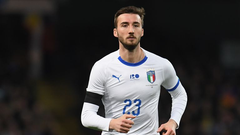 Cristante made his senior Italy debut against Macedonia in October 2017