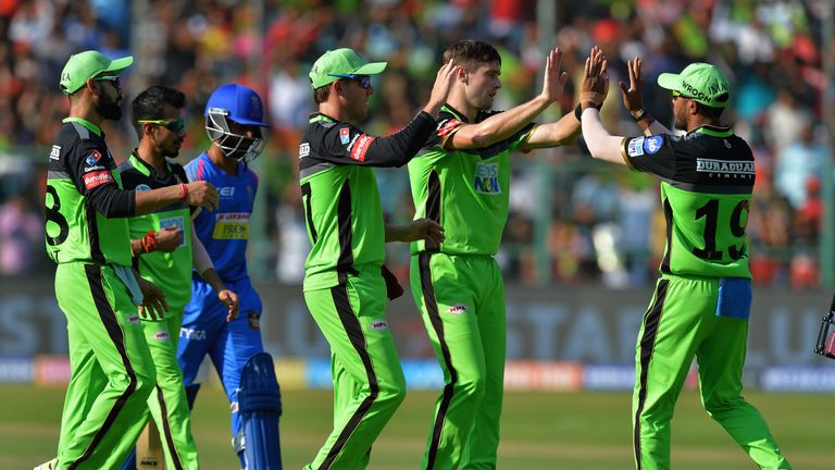 Can England's Chris Woakes add to his eight wickets for RCB? (Credit: AFP)