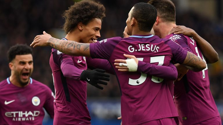 Man City have been dominant in the Premier League this season