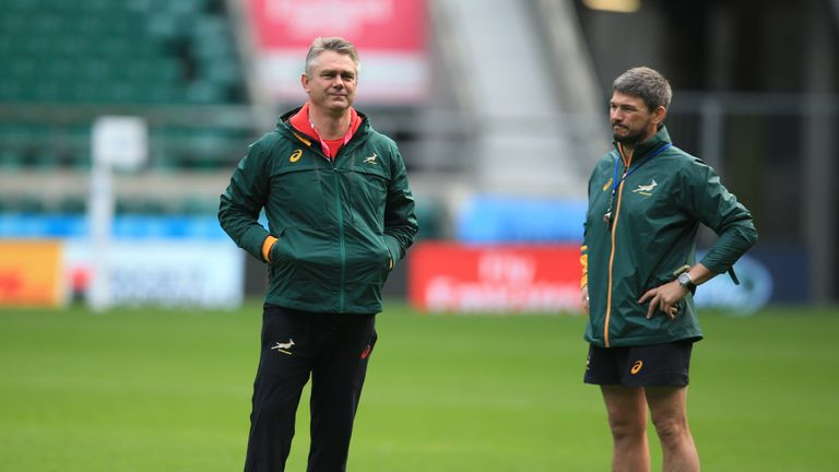 Heyneke Meyer has high hopes of success at Stade Francais