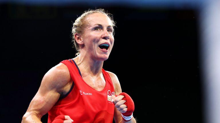 Lisa Whiteside is guaranteed a bronze medal