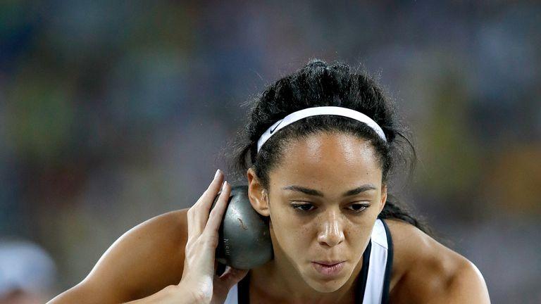 Katarina Johnson-Thompson has a 126-point lead in the heptathlon