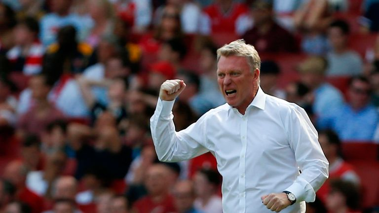 West Ham boss David Moyes was angry with Declan Rice's error