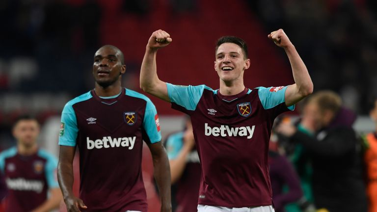 Rice has enjoyed a breakthrough campaign for the Hammers this season