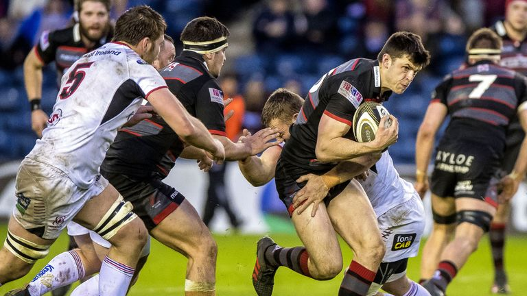 Edinburgh had won eight of their last nine in the PRO14 before their defeat to Ulster