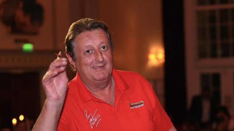 Eric Bristow suffered a heart attack while attending a corporate event in Liverpool