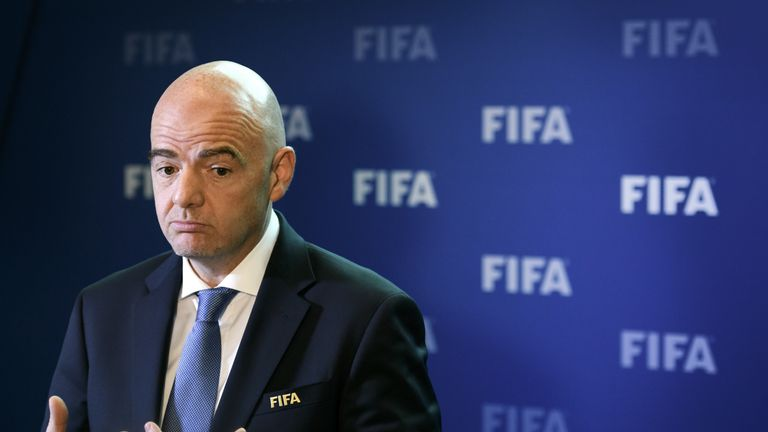 FIFA's Congress meet for the voting stage on June 13 in Moscow
