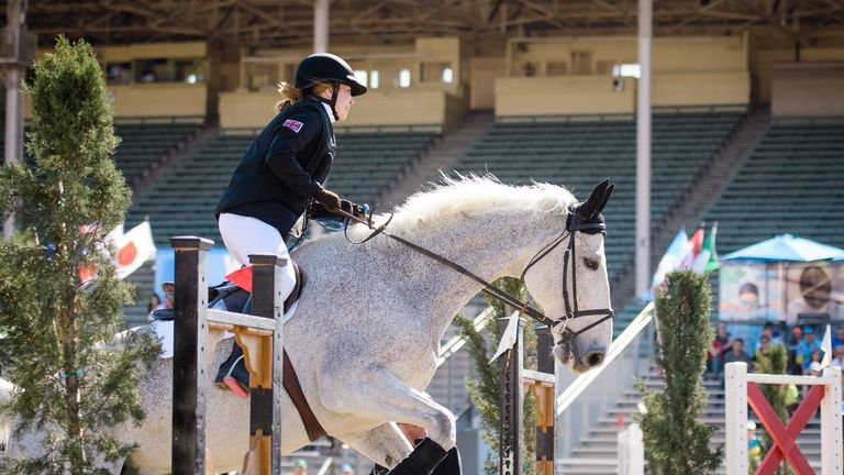 Francesca was delighted to be competing again before a busy summer (copyright: UIPM)