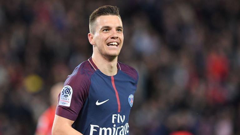 Giovani Lo Celso celebrates after scoring for PSG