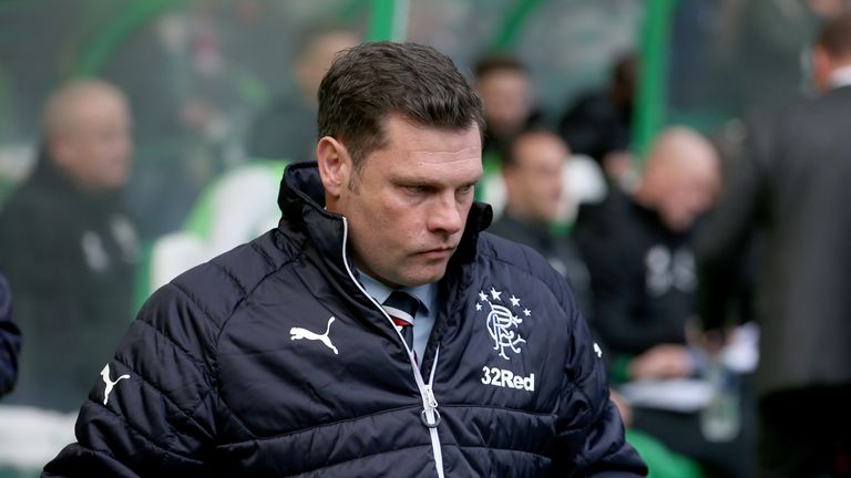 Graeme Murty's treatment at Rangers has been discourteous says Brendan Rodgers