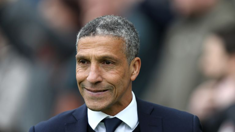 Chris Hughton is delighted to have signed Florin Andone