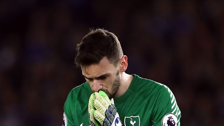 Hugo Lloris finds himself under scrutiny following a series of mistakes