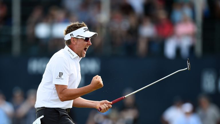 Ian Poulter snatched a Masters place in thrilling style