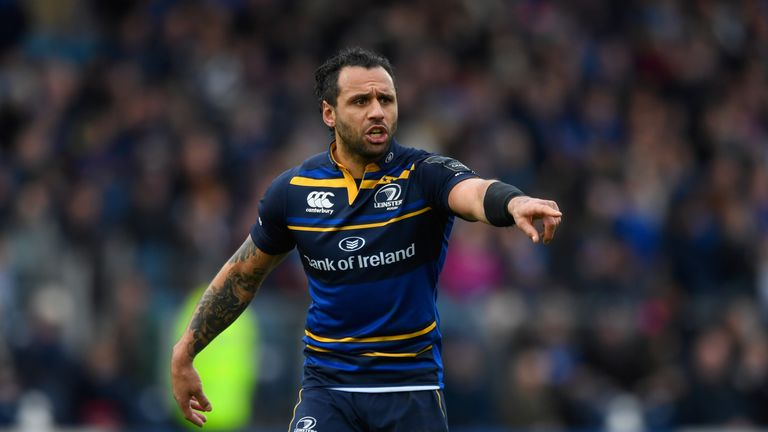 Aged 35, Leinster's Isa Nacewa continues to deliver for the Irish province