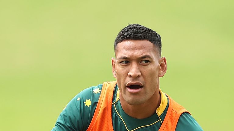 Israel Folau wrote a 2,000-word column explaining his remarks