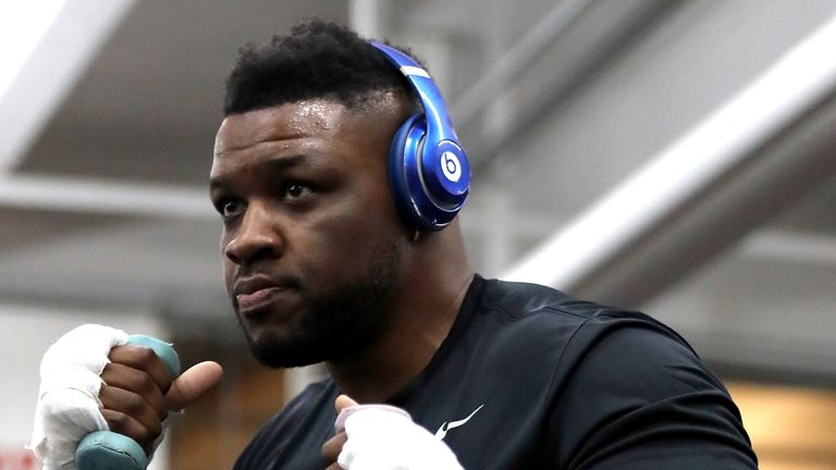 Jarrell Miller seems keen on an Anthony Joshua showdown