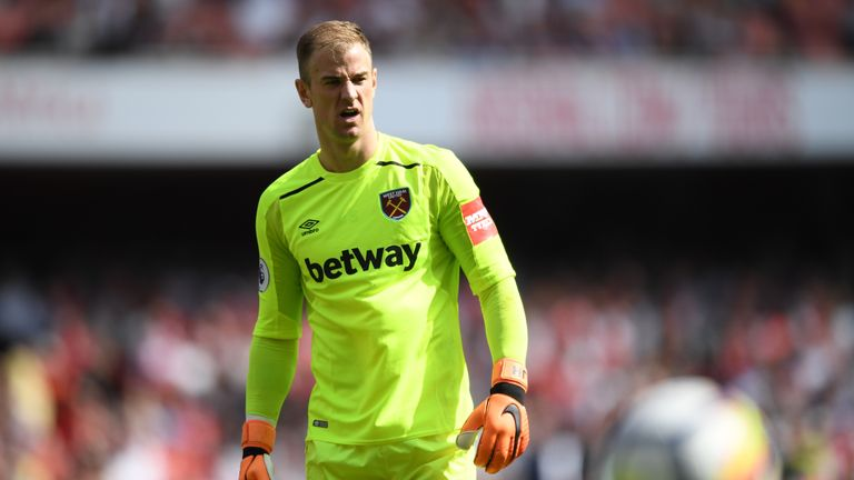 Joe Hart has dropped down the pecking order for England
