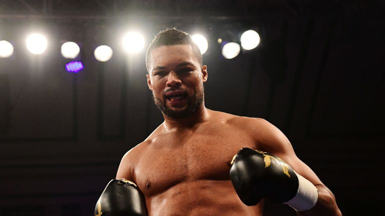 Joe Joyce has blasted his way to three knockout wins  in five months