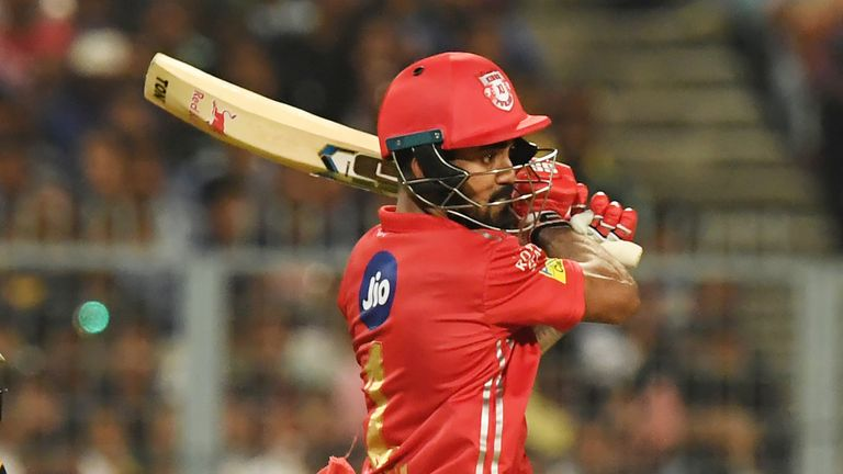 KL Rahul smashed a 14-ball fifty in Kings XI's previous meeting with Delhi (Credit: AFP)