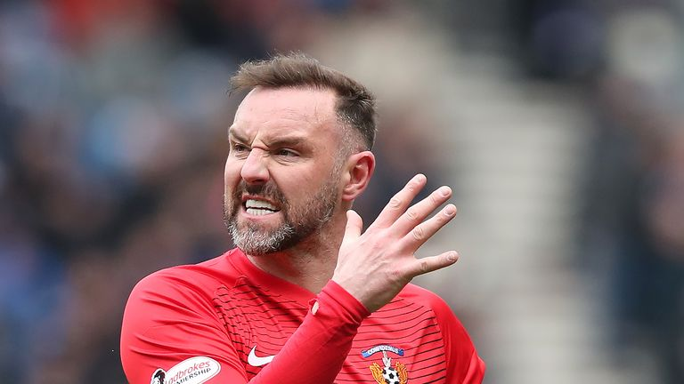 Kilmarnock striker Kris Boyd has scored four times in all competitions this season, but will be looking for his first goal in fives matches on Saturday